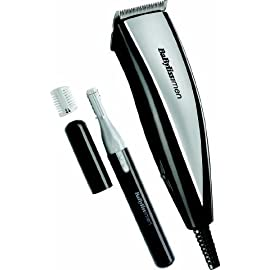 babyliss 7437tu - 41RuWoTmEhL - BaByliss 7437TU 20 Piece Home Mens Hair Cutting Kit Clipper & Trimmer Set