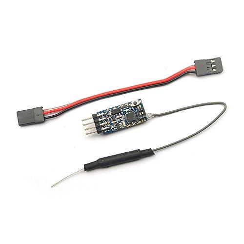 LaDicha Fd802 Tiny Frsky 8Ch Telemetrie Rssi Receiver Kompatible Frsky Accst X9D (Plus)