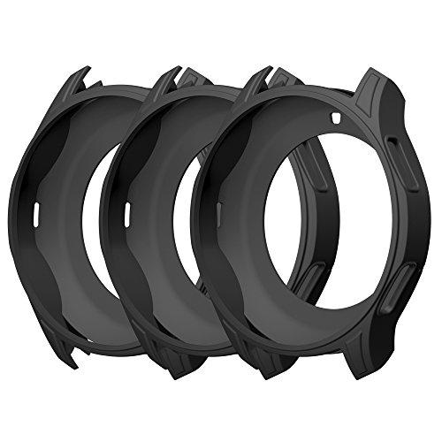 Awinner Coque pour Gear S3Frontier Sm-r760, résistant aux chocs et aux chocs Coque de protection Band pour Samsung Gear S3Frontier Sm-r760Smartwatch