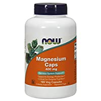 NOW Foods NOW Foods Magnesium 400 mg Caps 180's