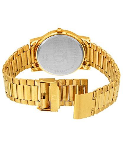 41RuYo bnSL - 1647YM02 Titan Gold Mens watch