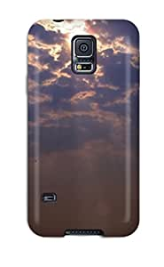 New Sun After Storm Rays Clouds Sea Horizon Nature Other Tpu Case Cover, Anti-scratch EDt-17NLvPzTof Phone Case For Galaxy S5