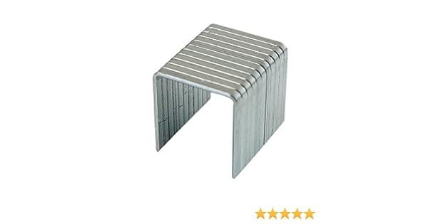 6/mm x 0.7/mm /Pack von 1000/Ersatz-Heftklammern Tolsen pn27011610010172929/