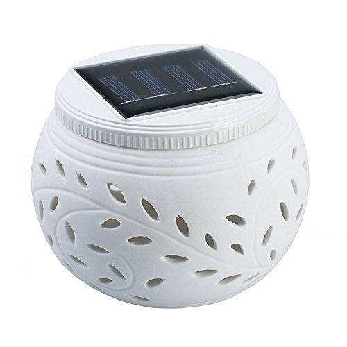lar Night Lights, 7farbwechselnde Ball LED-Lampe, Outdoor Wasserdicht Solar Powered filigranen Garten Lampen Licht für Terrasse Party Stimmung Beleuchtung, Tisch Dekorative Beleuchtung ()