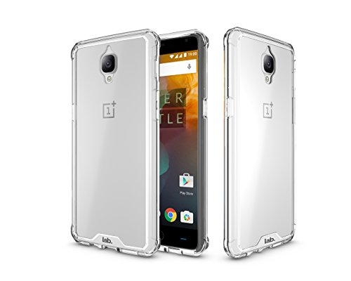 Oneplus 3 Ultra Hybrid Crystal Back case Cover by Labrador Oneplus 3 Cases and Covers (Clear)…