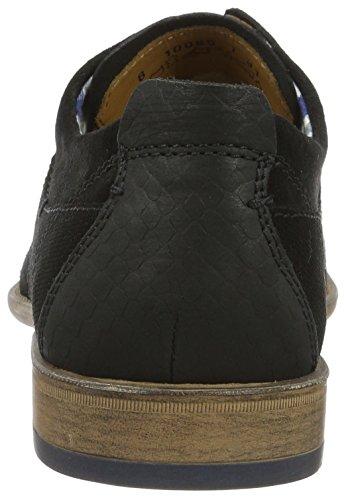 Fretz Homme Tosco, Black Chaussures À Lacets Pour Hommes
