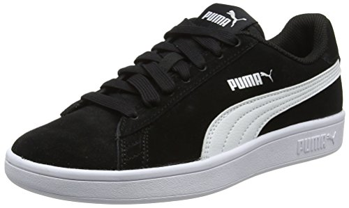 Puma Smash V2, Scape per Sport Outdoor Unisex-Adulto, Nero Black White Silver, 44 EU