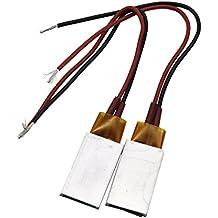 adhere to Fly 2pcs Resistencia secador accesorios, calefactores PTC, anwendbare Calefacción en miniatura (12V, 220°C)