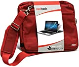 Navitech Borsa per Laptop Rosso Compatibile con La HP Envy x360 15-dr0033na 4K UHD Convertible 15.6 inch Laptop