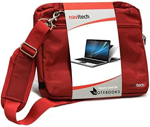 "Navitech Rot Fall/Abdeckung Trage Tasche Kompatibel Mit Dem ASUS X54C-SX548V 15.6"" Core i3 Laptop"