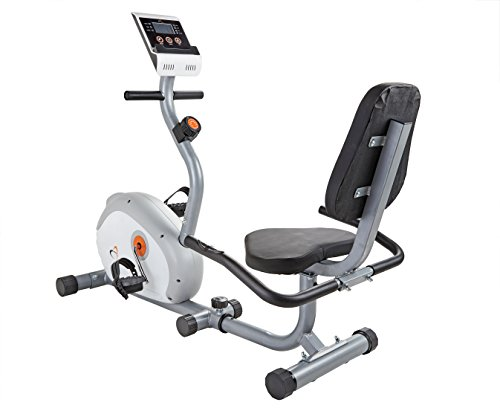 V-Fit G-RC Recumbent Magnetic Cycle - Bicicletas estáticas