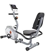 V-Fit G-RC Recumbent Magnetic Cycle - Bicicletas estáticas (interior, magnético