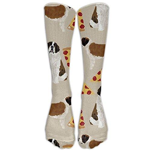Saint Bernard Dog Breed compression-socks For Men & Women - BEST For Running, Nurses, Shin Splints, Flight Travel, Skiing & Maternity Pregnancy - Boost Athletic Stamina & Recovery -