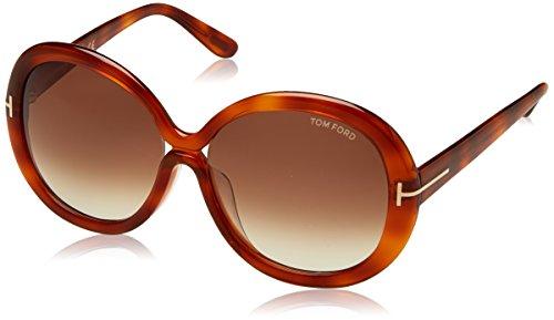 Tom Ford zzz Sonnenbrille Giselle (55 mm) havana