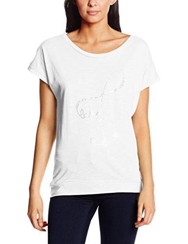 Madonna 40-8523, T-Shirt Femme Blanc - Blanc (0001)