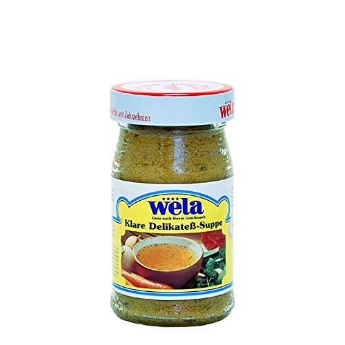 Klare Delikateß-Suppe
