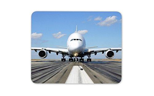 A380Flugzeug Maus Pad Matte Flugzeug Flugzeug lustiges Weihnachtsgeschenk Computer PC Geschenk # - Maus Computer Lustige Für
