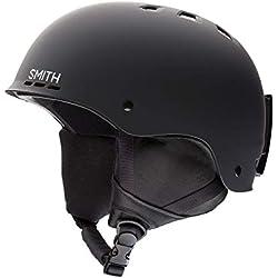 Smith Holt 2 E00681Z7H5155 Casque de ski Noir mat Taille 55 - 59