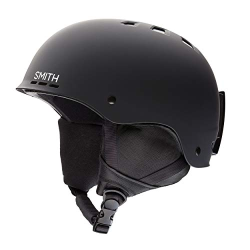 SMITH Herren Helm Holt Skihelm, Schwarz matt, 51-55 -