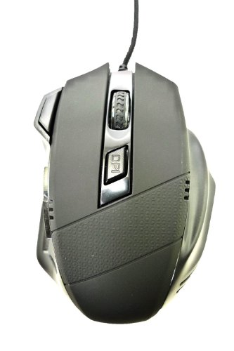 LB1 High Performance Neue Maus für Acer Aspire One AO722-0828 Laptop AMD Dual-Core 60 10 GHz ATI RadeonTM Grafikkarte 4 DPI Stufen (800/1200/1600/2400) Professional USB Wired Gaming Maus 7 Tasten für Pro Gamer -