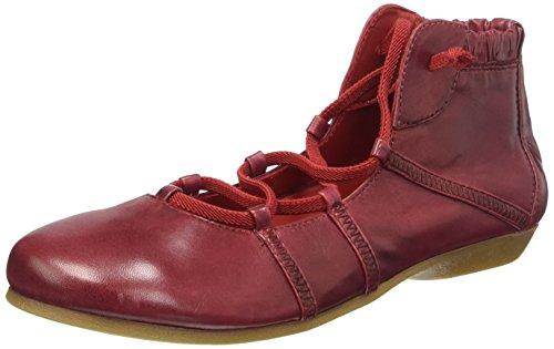 piazza-990947-bottines-basses-sans-doublure-interieure-femme-rouge-bordeaux-36