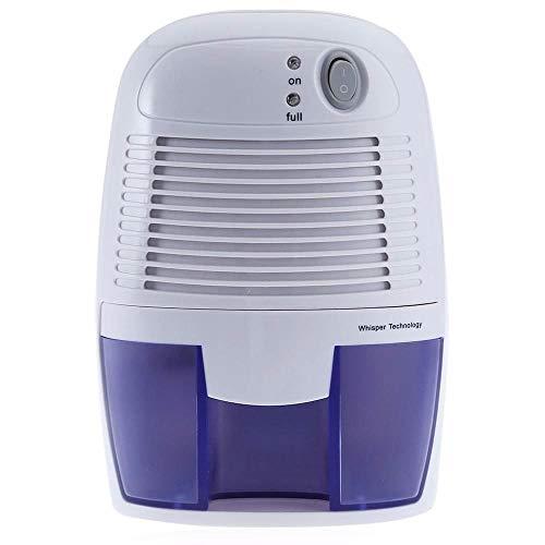 QingMing 500 ml Haushalts-Luftentfeuchter Mini-Halbleiter-Luftentfeuchter Kleiderschrank Feuchtigkeitsentfeuchter Industrieller Luftentfeuchter - Mit Licht Ruhiges Bad-fan