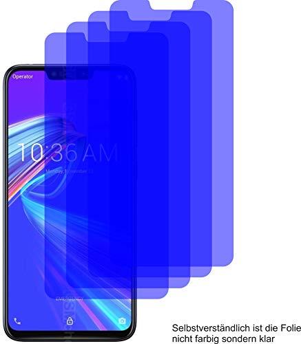 4X ANTIREFLEX matt Schutzfolie für ASUS ZenFone Max M2 Displayschutzfolie Bildschirmschutzfolie Schutzhülle Displayschutz Displayfolie Folie