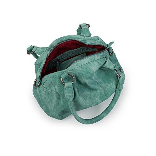 Fritzi aus Preußen Krista Canvas kiwi - Handtasche Kiwi