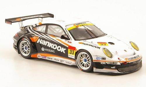 porsche-911-997-no33-hankook-super-gt300-2010-modellauto-fertigmodell-ebbro-143