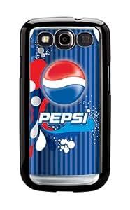 Case Schutzrahmen hülse Pepsi Cola Ps 11 Abdeckung für Samsung Galaxy S3 Border Gummi Silikon Tasche Schwarz @pattayamart