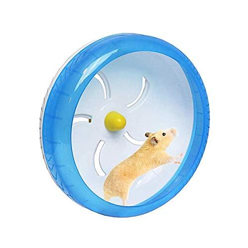 POPETPOP Silent Hamster Wheel-Pets Laufen Sportübungsrad Joggingrad Hamster Ratte Gerbil Silent Spinner (Spinner Ratte)