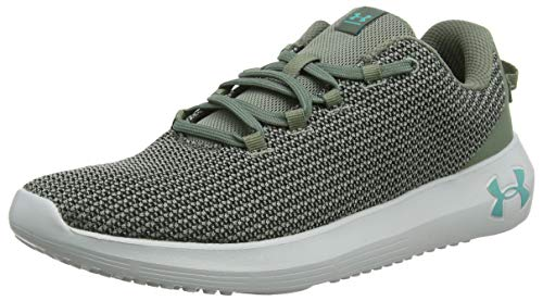 Under Armour Ripple, Scarpe Running Uomo, Verde (Moss Black/Green Malachite), 43 EU