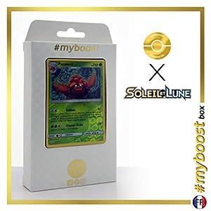 Parasect 5/149 Holo Reverse - #myboost X Soleil & Lune 1 - Box de 10 Cartas Pokémon Francés