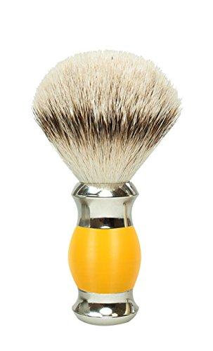 Golddachs Blaireau de rasage 100% argenté, jaune, argenté