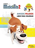 Mascotas 2. Amigos peludos: Libro para colorear ¡Con muchas pegatinas de regalo! (Dreamworks. Mascotas 2)