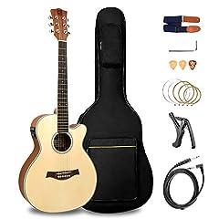 Vangoa 3 4 Akustische Cutaway 36