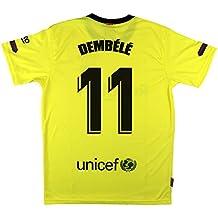 B F Camiseta Adulto Dembele FC Barcelona Segunda Equipación Producto  Oficial Licenciado Temporada 2018 ... b5ae237fdf0