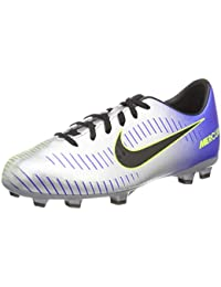 Nike Mercurial Victory V Cr FG Chaussures de Football Enfant de Unisexe - Gris - Gris Clair, 38,5 EU