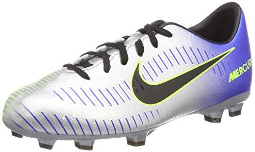 Nike Unisex-Kinder Jr Mercurial Victory VI Neymar FG Fußballschuhe, Blau (Racer Blue Black Chrome Volt 407), 36 EU
