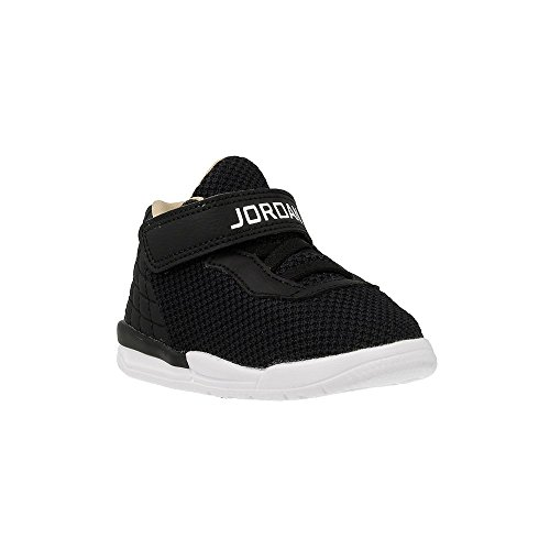 Nike Unisex Baby Jordan Academy BT Sneaker, Black (Schwarz / Weiß-Cool Grey-Vachetta Tan), 22 EU (Jordan Babys Schuhe)