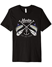 Marlin Schwertfisch Hochsee Angeln Maritim T-Shirt & Design