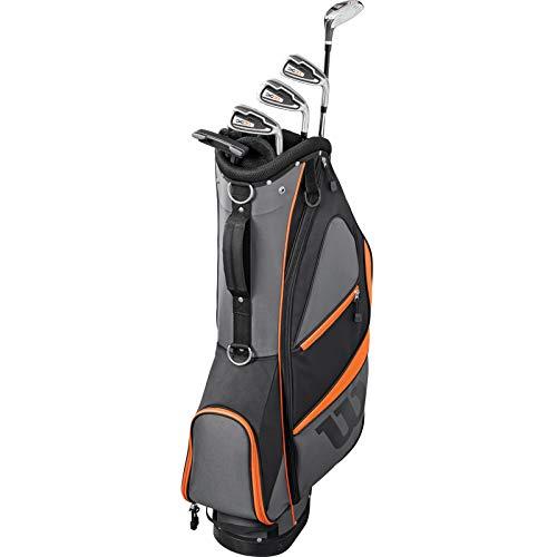 Wilson X 31 Golfhalbsatz Herren Rechtshänder Regular Flex Golfset inkl. 12 Wilson Golfbälle