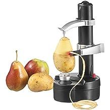 Vicloon 2016 Nueva Fruta Eléctrica de Acero Inoxidable Multifunción Manzana Policía Patata Máquina de Pelar Automático (Negro)