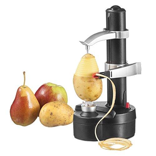 Vicloon Pelador eléctrico de fruta y verdura para fruta y verdura Negro