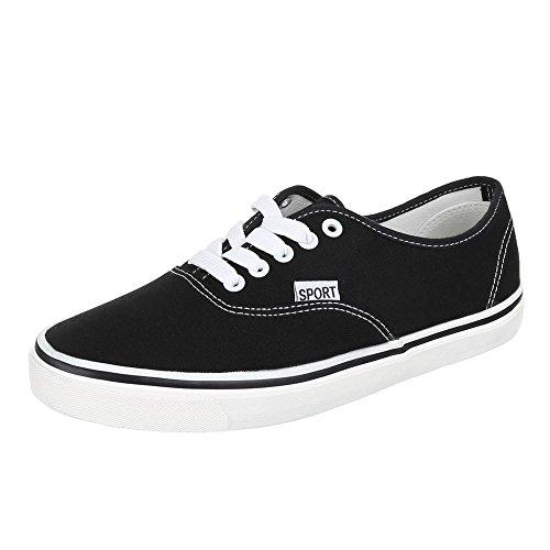 Chaussures pour Homme, Q de 12, Baskets moderne chaussures de sport Noir - Noir