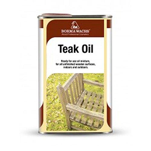 Foto de Borma Wachs - Aceite Teka para la protección de la madera - 500 ml - Color Incoloro