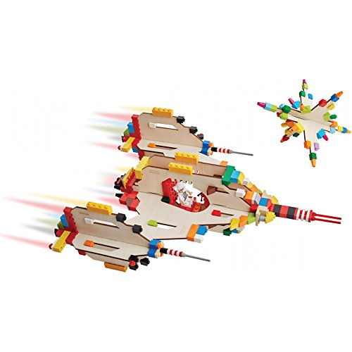 Brikkon-Spaceship-Easy-Wood-Projects-Use-Your-Own-Lego-Bricks