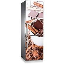 Vinilo para nevera | Stickers Fridge | Pegatina Frigo |Coffe&Chocolate (185x70)