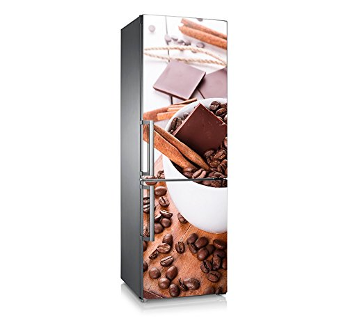 Vinilo nevera | Stickers Fridge | Pegatina Frigo |Coffe&Chocolate