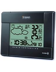 Oregon Scientific BAR386 - Estación meteorológica, previsión por simbolos, temp int / ext, color negro